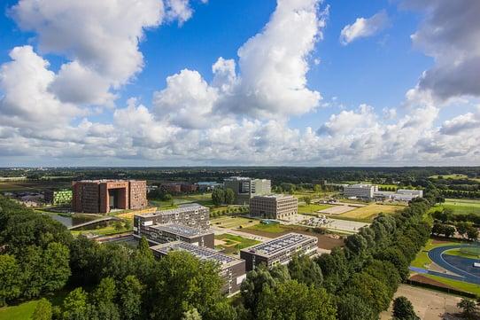Wageningen_Campus_augustus2017 Van Gooien wiki commens-1