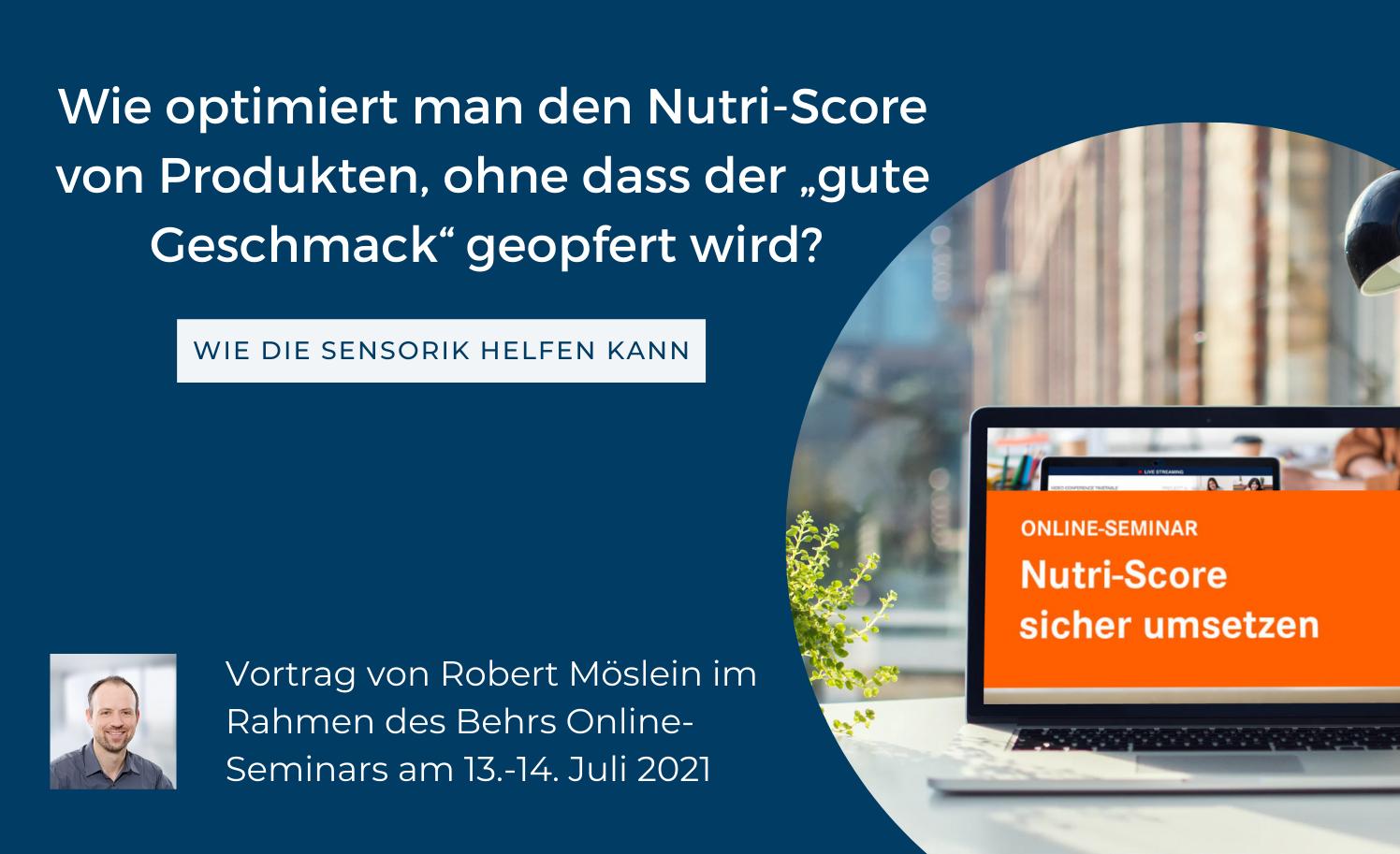 Nutri Score Seminar Robert